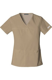 Clearance Flexibles by Cherokee Women's Pro V-Neck Solid Scrub Top