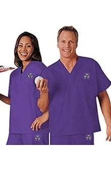 clearance10: Cherokee Unisex Team Solid Scrub Top
