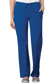 WW Flex by Cherokee Workwear with Antimicrobial Certainty Unisex Straight Leg Drawstring Scrub Pant