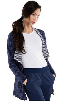 Runway by Cherokee Women's Reversible Knit Cardigan