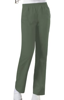 MED: Cherokee Workwear Women's Elastic Waist Pull-On Scrub Pants
