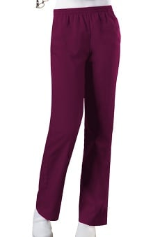 petite: Cherokee Workwear Women's Elastic Waist Pull-On Scrub Pants