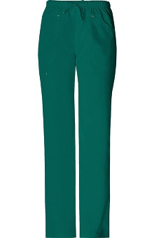 Core Stretch by Cherokee Workwear Women's 2-Tone Drawstring Scrub Pant