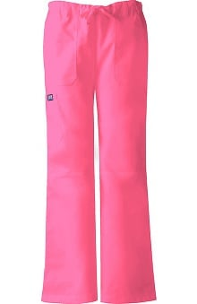 2XL: Cherokee Workwear Women's D-Ring Cargo Scrub Pants
