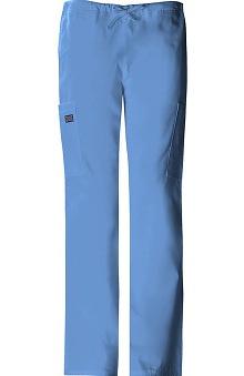 tall: Cherokee Workwear Women's Straight Leg Cargo Scrub Pant