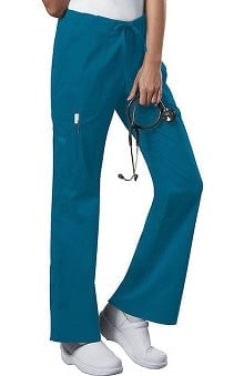 petite: Core Stretch by Cherokee Workwear Women's Drawstring Scrub Pant