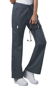 petite: Cherokee Workwear Women's Stretch Drawstring Scrub Pant