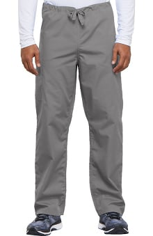 MED: Cherokee Workwear Unisex Drawstring With Cargo Pocket Scrub Pants