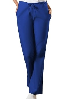 Cherokee Workwear Women's Natural Rise Flare Leg Scrub Pants