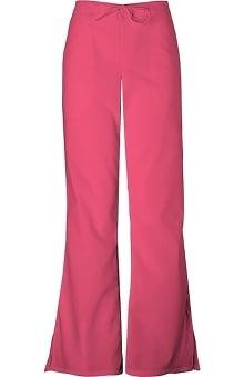 tall: Cherokee Workwear Women's Natural Rise Flare Leg Scrub Pants
