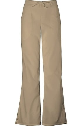 Clearance Cherokee Workwear Women's Natural Rise Flare Leg Scrub Pants