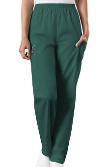 general hospital scrubs: Cherokee Workwear Women's Scrubs Elastic Waist Utility Scrub Pants