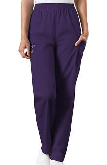 Cherokee Workwear Women's Scrubs Elastic Waist Utility Scrub Pants