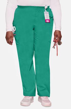 Cherokee Workwear Women's Scrubs Elastic Waist Utility Scrub Pants