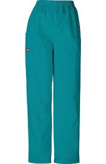tall: Cherokee Workwear Women's Scrubs Elastic Waist Utility Scrub Pants