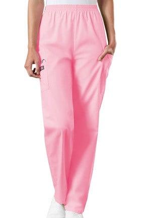 Clearance Cherokee Workwear Women's Scrubs Elastic Waist Utility Scrub Pants