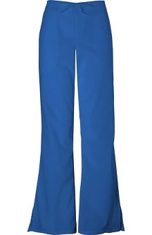 Premium Stretch by Cherokee Workwear Women's Flare Leg Drawstring Scrub Pant