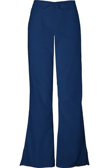 Clearance Premium Stretch by Cherokee Workwear Women's Flare Leg Drawstring Scrub Pant