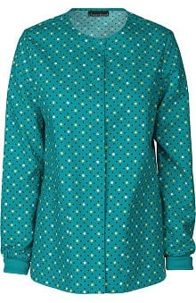Cherokee Women's Snap Front Warm Up Jacket