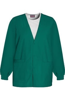 3XT: Cherokee Workwear Women's V-Neck Solid Scrub Jacket