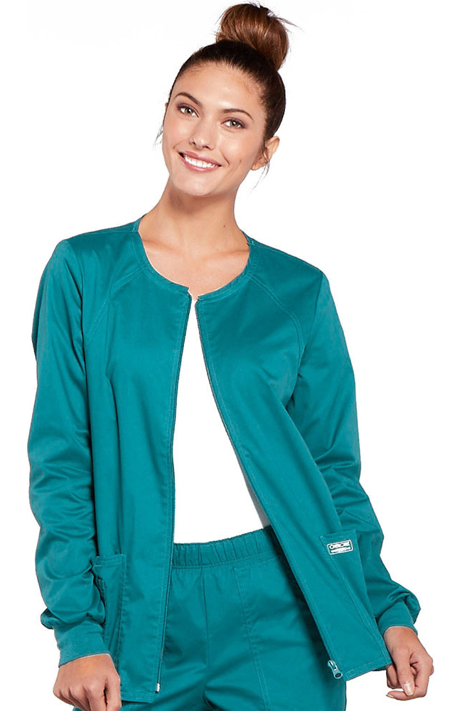 Womens scrub jackets