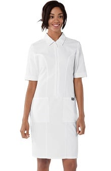 Cherokee Workwear Women's Zip Front Scrub Dress