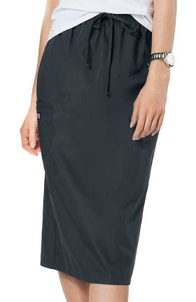 "Cherokee Workwear Women's Drawstring 30"" Scrub Skirt"