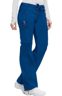code happy™ with Certainty Plus Antimicrobial and Fluid Barrier Fabric Technology Women's Low Rise Drawstring Scrub Pant