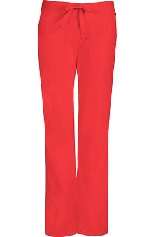 Clearance code happy™ with Certainty Antimicrobial Fabric Technology Women's Mid-Rise Flare Leg Drawstring Scrub Pant