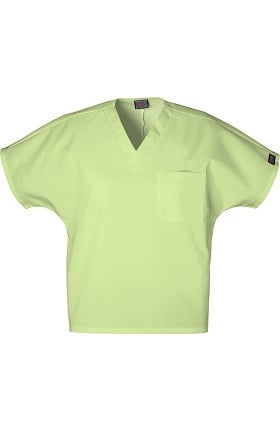 Clearance Cherokee Workwear Unisex V-Neck 1-Pocket Solid Scrub Top