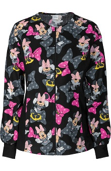 Tooniforms Women's Warm Up Print Scrub Jacket