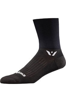 Footwear By Cherokee Unisex Swiftwick Antimicrobial Crew Socks