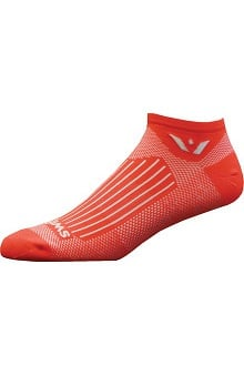 Footwear By Cherokee Unisex Swiftwick Antimicrobial No Show Socks