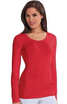 Careisma By Sofia Vergara With Antimicrobial Certainty Women's Samantha Long Sleeve Knit T-Shirt