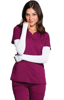 code happy™ with Antimicrobial Certainty Unisex Knit Arm-Warmer Sleeves