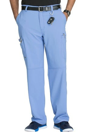 Infinity by Cherokee Men's Zip Fly Cargo Scrub Pant