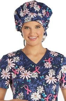 Cherokee Women's Printed Bouffant Scrub Hat
