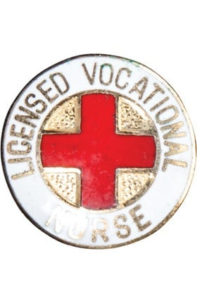Clearance Cherokee Licensed Vocational Nurse Pin
