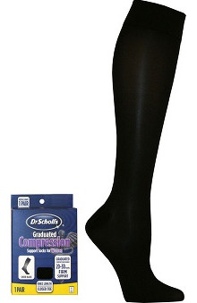 Dr. Scholl's Women's 20-30 Mm/Hg Compression Support Sock