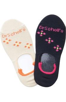 Dr. Scholl's Women's No Show Socks 2Pr