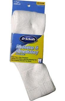 Dr. Scholl's Unisex Diabetic Sock