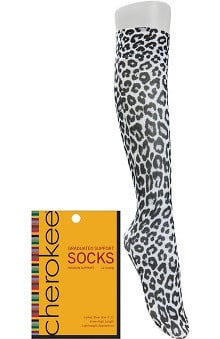 Footwear by Cherokee Women's Fashion Compression Sock