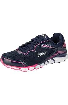 Fila Women's Athletic Shoe W/Mesh Overlays