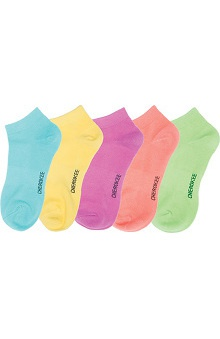 Footwear by Cherokee Women's No Show Socks 5 Pack