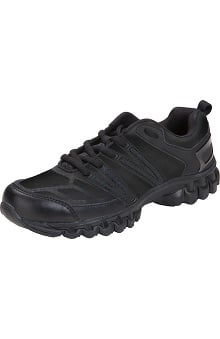 Footwear by Cherokee Workwear Women's Black Fran Shoe
