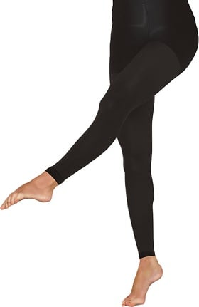 Therafirm by Cherokee Women's 10-15 mmHg Footless Opaque Tights