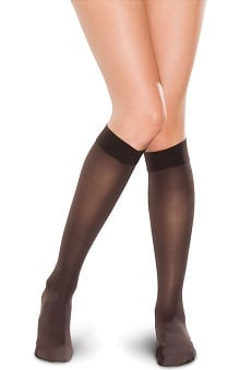 Therafirm by Cherokee Women's 15-20 mmHg Knee High Sheer