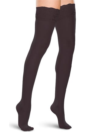 Therafirm by Cherokee Women's 20-30 mmHg Thigh High Lace Top