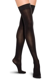 Therafirm by Cherokee Women's 20-30 mmHg Thigh High Closed Toe