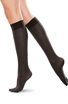 Therafirm by Cherokee Women's 30-40Hg Knee-High Closed Toe Compression Sock